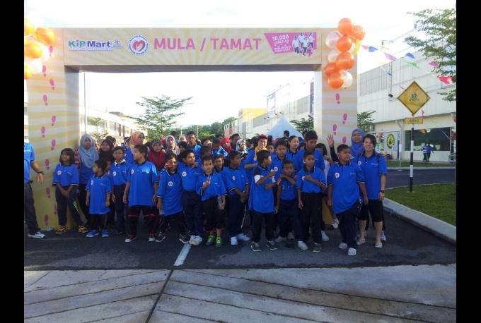 10,000 Steps Event - Program Gaya Hidup Sihat