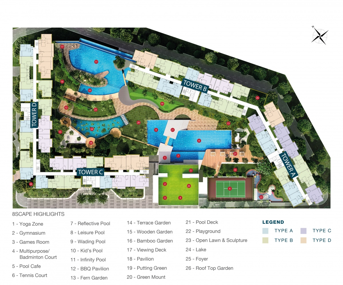 8scape Residences @ Sutera