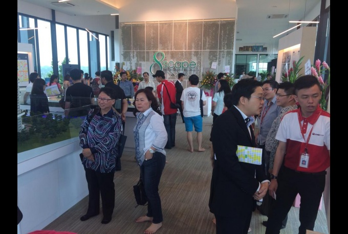 8scape Residences @ Sutera Grand Opening