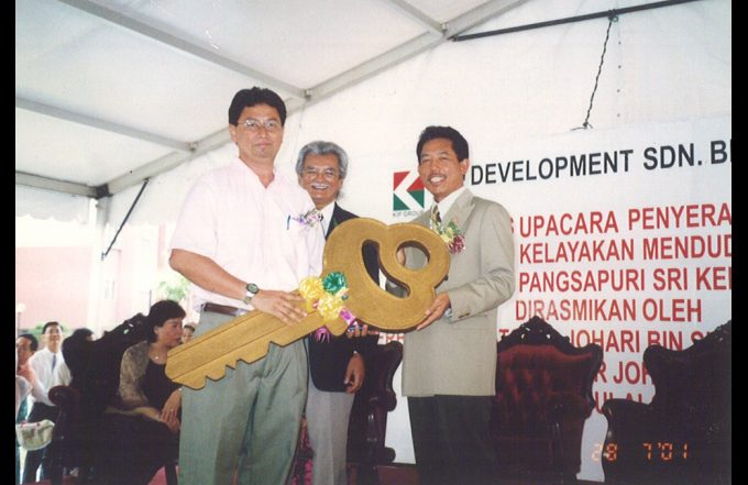 Sri Kenari Apartment Key Hand-over Ceremony