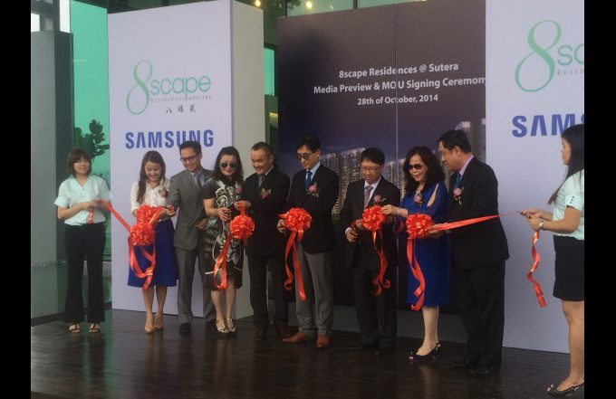 8scape Residences @ Sutera Priority Preview & Samsung Partnership Signing Ceremony
