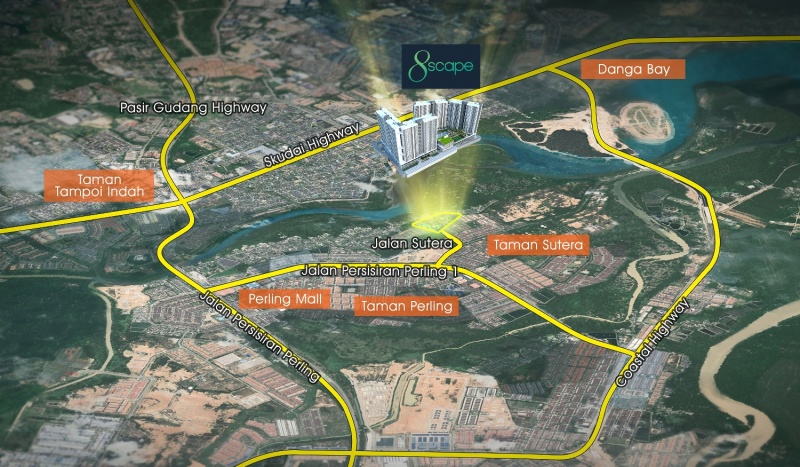 8scape Residences @ Sutera