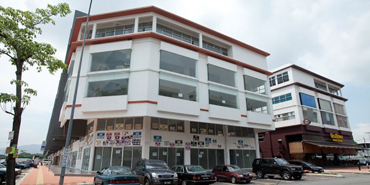 KIPARK Sri Utara: Business Avenue