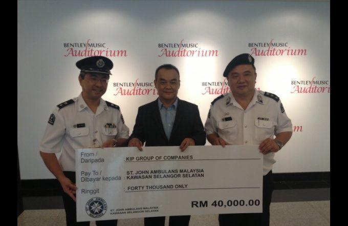 St John's Ambulance Donation CSR Project