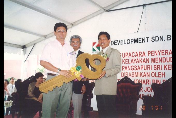 Sri Kenari Apartment Key Hand-over Ceremony