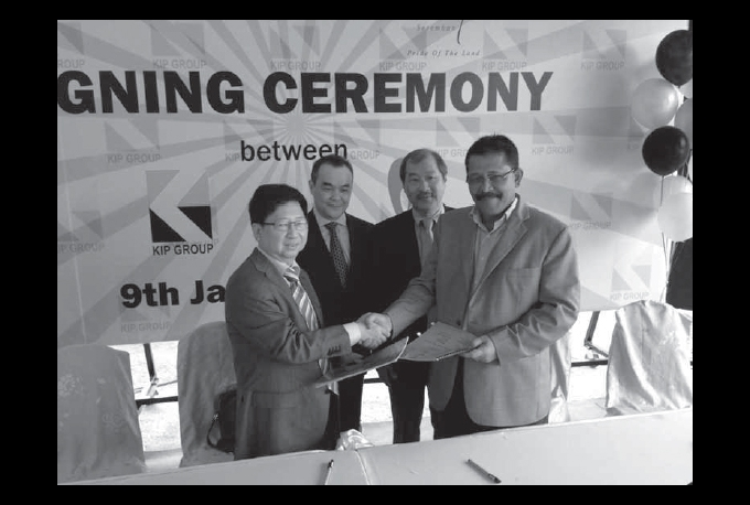 KIP Group and Matrix Concepts Holdings Bhd Signing Ceremony