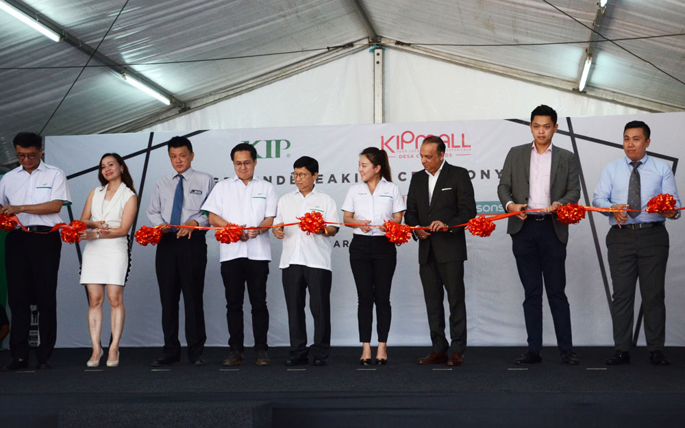 KIPMall Desa Coalfields Groundbreaking Ceremony